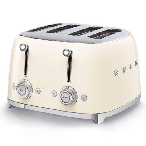 TSF03CRUK Smeg Cream 4 Slice Toaster
