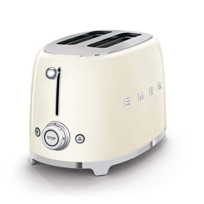 TSF01CRUK Smeg Cream 2 Slice Toaster-2
