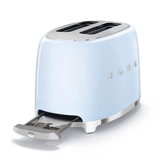TSF01PBUK Smeg Pastel Blue 2 Slice Toaster