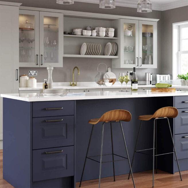 O&S Ethos Glazed Kitchen Doors